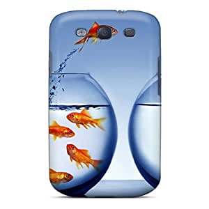 High Quality Shock Absorbing Case For Galaxy S3-be Your Own Person