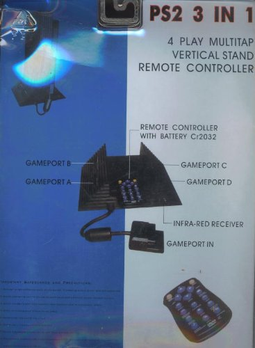 Ps2 Multi-tap / Remote Control / Vertical Stand (Sony Tap Multi Ps2)