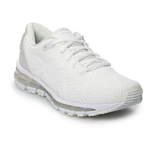(ASICS Gel-Quantum 360 Knit 2 Women's Running Shoe, White/Pure Silver, 9 M US)