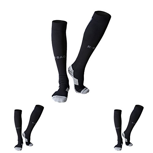 TULUO 3 Pairs Over Knee High Soccer Sock - Double Cushion Adult Mouth Guard Shopping Results
