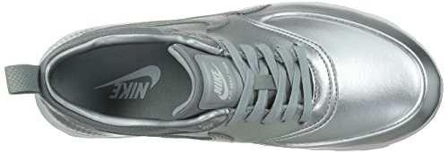 Nike W Air Max Thea Metallic, Zapatillas de Deporte para Mujer Plateado (Mtllc Slvr / Mtllc Slvr-Pr Pltnm)