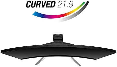 Acer Gaming Monitor 37.5″ Ultra Wide Curved XR382CQK bmijqphuzx 3840 x 1600 1ms Response Time AMD FREESYNC Technology (Display, HDMI & MHL Ports) 41in 2BSe KyL