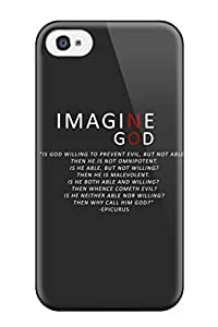Best Iphone 6 4.7 Case Cover - Slim Fit Tpu Protector Shock Absorbent Case (anti Religious) 9339772K12488118