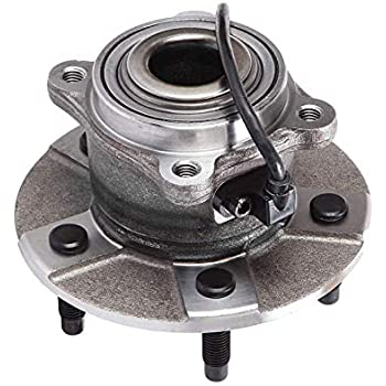 New Complete Rear Left or Right Wheel Hub /& Bearing for Chevy w// ABS 5 Lug