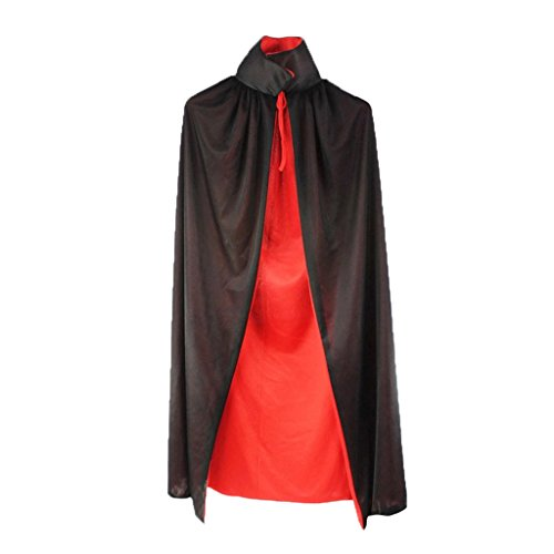 Charming House Halloween Black and Red Cosplay Cloak Costumes (Zombie Wedding Halloween Wars)