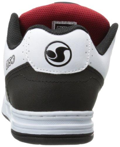 Dvs Mens Förödelse Skatesko Svart / Grå Läder