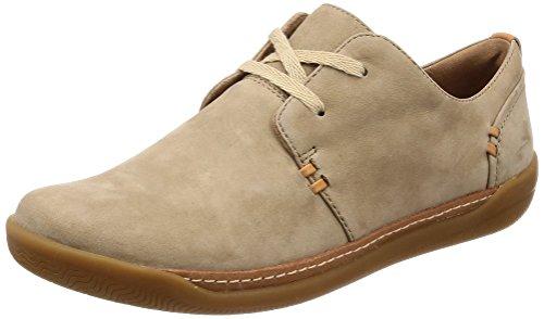 Chaussures 26132186 Lacets Femme de Pour Ville Clarks à Beige C5xzqC6w