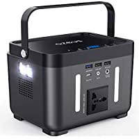 AZEUS Portable Power Station with 110V/250W AC Outlet for Outdoors Camping Travel Hunting CPAP Emergency