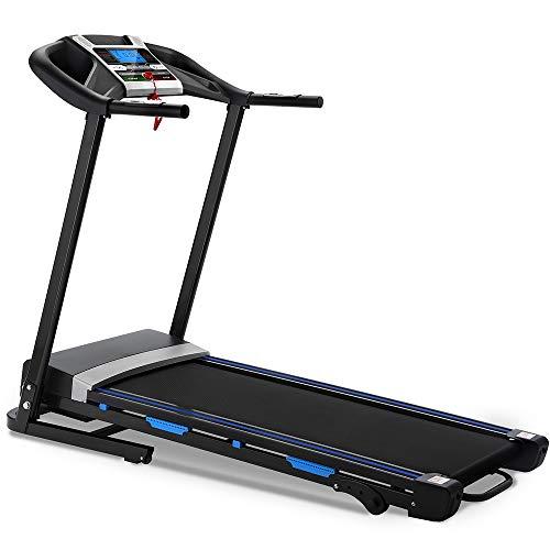 Nacatin Electric Home Motorized Treadmill Foldable 12 Preset Programs