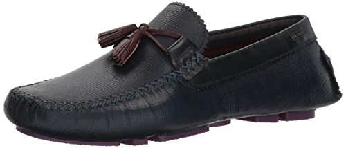 Ted Baker Mens Urbonn Mocassino Blu Scuro
