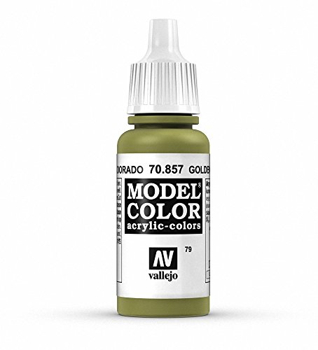 Vallejo Golden Olive Paint, 17ml (Olive Golden Branch)