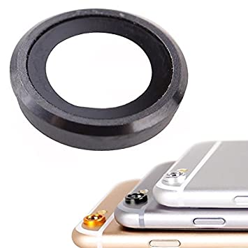 on sale 0e980 5869f BisLinks® Glass Camera Lens Cover Ring Black For iPhone: Amazon.co ...