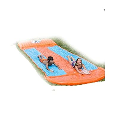 Methink Toy Slip and Slide Triple Lane: Toys & Games