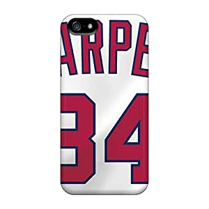 Excellent Hard Cell-phone Case For Apple Iphone 5/5s (lMa22611jTFT) Provide Private Custom Realistic Washington Nationals Pattern