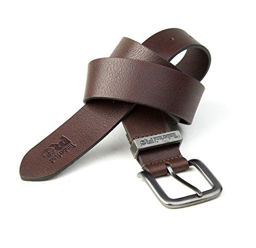 Pro Leather - Timberland PRO Men's 40mm Workwear Leather Belt, acorn/logo keepers, 40