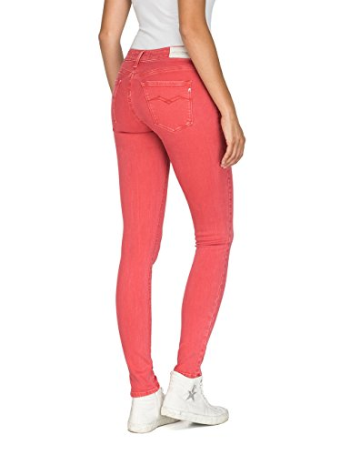 Replay 654 Rouge Femme Luz Jeans Red Pale qUrA8UnwW
