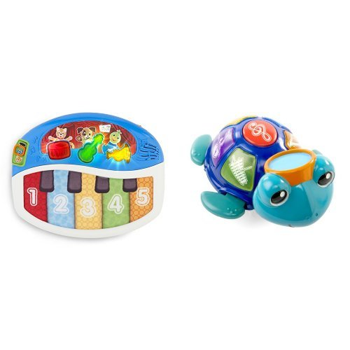 Musical Rocking Bassinet - Baby Einstein Discover & Play Piano and  Baby Neptune Ocean Orchestra