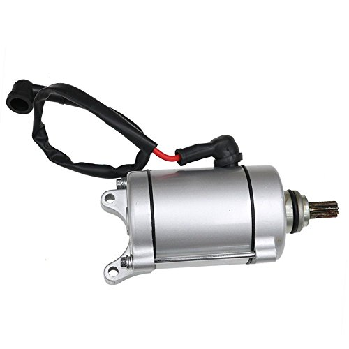 TDPRO 12V 9 Teeth Starter Motor for Water Cooled Engine Moped Scooter
