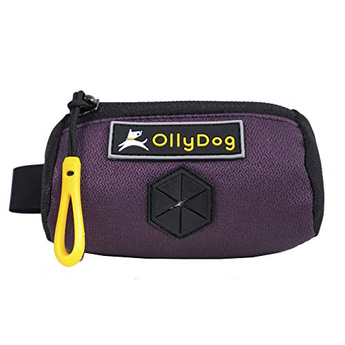 Ollydog Dog Pack - OllyDog Scoop Pick Up Bag, Dog Waste Dispenser, Dahlia, One Size