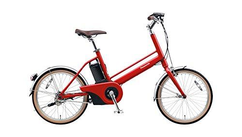 Panasonic(パナソニック) 2018年モデル Jコンセプト 20インチ BE-JELJ01A 電動アシスト自転車 専用急速充電器付 B07DN9X95Q R:レッドリーブス(紅緋) R:レッドリーブス(紅緋)