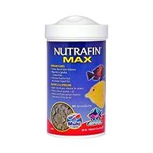 Nutrafin Max Spirulina Flakes, 2.72-Ounce