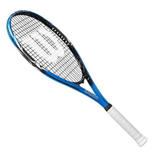"Wilson Tour Slam Lite Tennis Racket, 4 38"" - Blueblack"