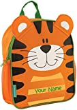 Personalized Stephen Joseph Tiger Mini Sidekick Backpack with Embroidered Name