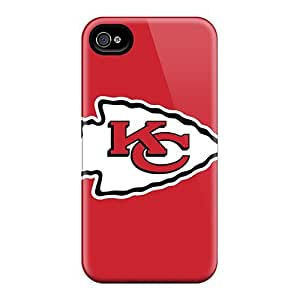 Bumper Cell-phone Hard Covers For Iphone 6 With Provide Private Custom Stylish Kansas City Chiefs Image JamieBratt