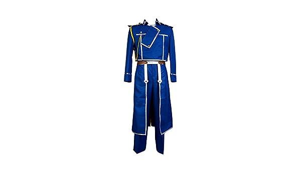 ya-cosAZB Fullmetal Alchemist Coronel Roy Mustang Uniforme ...