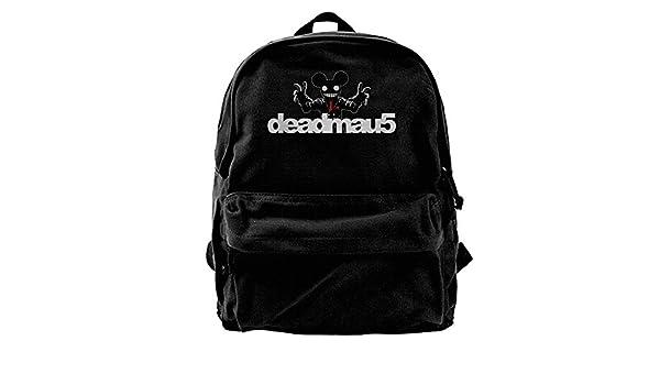 4052387a8069 Amazon.com: WilliamWButler Deadmau5 Canvas Backpack Mans Womans ...