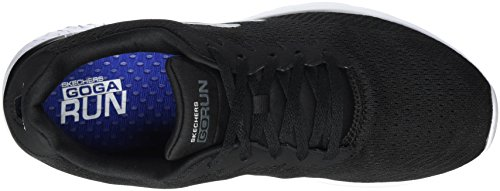 Scarpe Outdoor Black White 400 Nero Sportive Run Go Skechers Uomo pgx8Xwqt