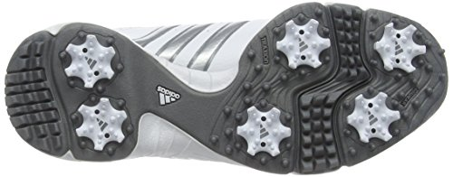 Adidas 360 Traxion Unisex - Zapatillas para niños Blanco (White/Silver Metallic/Iron Met)