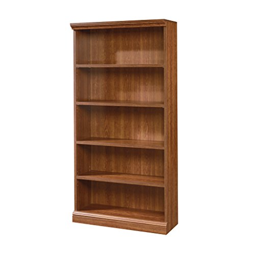 Sauder 101785 Camden County Library, Planked Cherry (Home Library Bookcases)