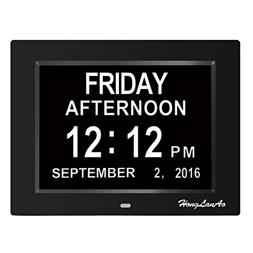 8inch Day Clock - The Original Memory Loss Digital Calendar