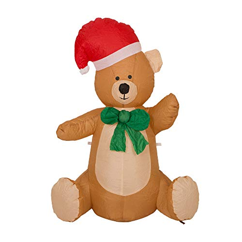 Lighted Christmas Bear Outdoor in US - 9