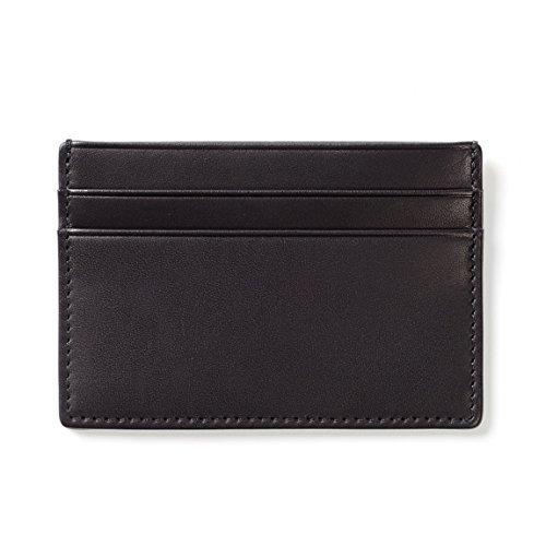 Black Oil Card Case Case Oil Card Case Slim Black Slim Card Slim wPfvZ