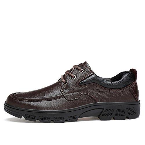 37 tamaño Zapatos Jusheng de Moda Marrón Manera Marrón EU Caliente la Suave los Informal Oxford Manera de Hombres Terciopelo de Casual Color la de la Oxford de Opcional 4Srd4qw