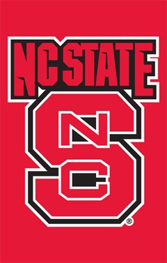 Party Animal North Carolina State Wolfpack Banner College Flag