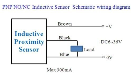 Fine Amazon Com Ksb 5Pcs Pnp No Lj8A3 2 Z By Inductive Proximity Sensor Wiring Digital Resources Warobapapkbiperorg