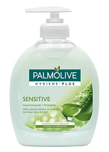 Palmolive Hygiene-Plus Sensitive Flüssigseife, 3er Pack (3 x 300 ml)