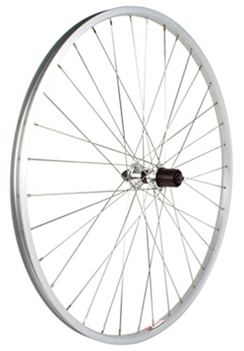 Avenir Joytech/Weinmann CN520 32H QR Rear Wheel with 5-7 Speed Freewheel Hub (Silver, 700 x 25mm)