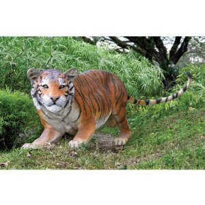 Exotic Indian Tiger Wildlife Garden Statue