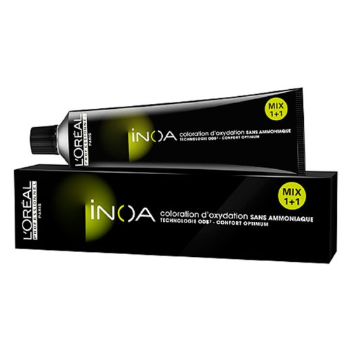 L'Oreal Professional Inoa Unisex Hair Color, # 4.56 Mahog...