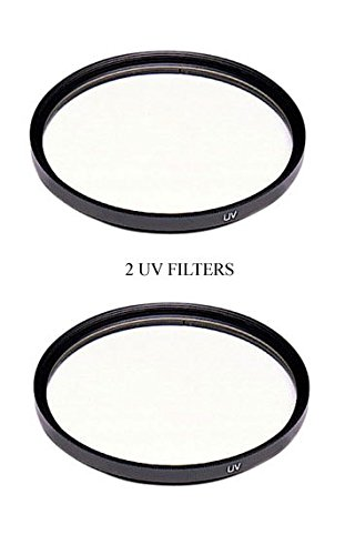 TWO UV Filters for Panasonic HDC-HS250P, Panasonic HDC-HS250PC, Panasonic HDCHS250P, Panasonic AG-HMC42E, Panasonic AGHMC42E by photo High Quality