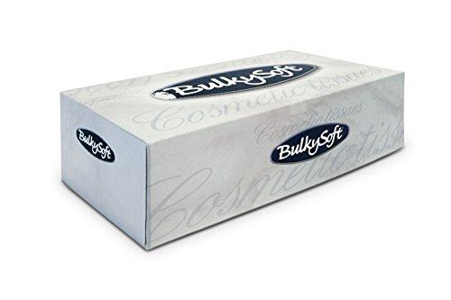 Bulky Soft BS 68350 - Caja de pañuelos faciales, 2 capas, color blanco brillante (150 unidades): Amazon.es: Industria, empresas y ciencia