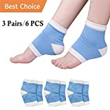 Moisturizing Socks, Heel Socks, Plantar Fasciitis Silicone Sleeve *New Material* Gel Socks for Back Brace Posture Corrector FDA Approved Back Brace