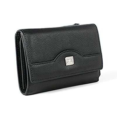 RFID Blocking Secure Wallet - Ladies Compact Trifold - RFID Wallets for Women