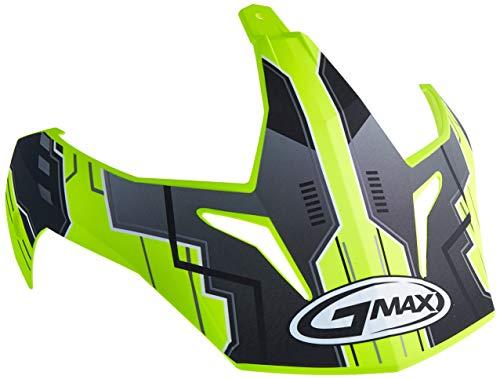 GMAX Unisex-Adult G011062 Visor Gm11D '15 Advntr Tc24 Tt Hi-Vis Yellow (One Size)