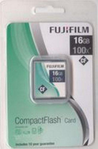 Fujifilm - Tarjeta de memoria CompactFlash (16 GB, 100x, 15 ...