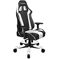 DXRacer OH/KS06/NW Ergonomic, Computer Chair for Gaming, Executive or Home Office King Series White / Black